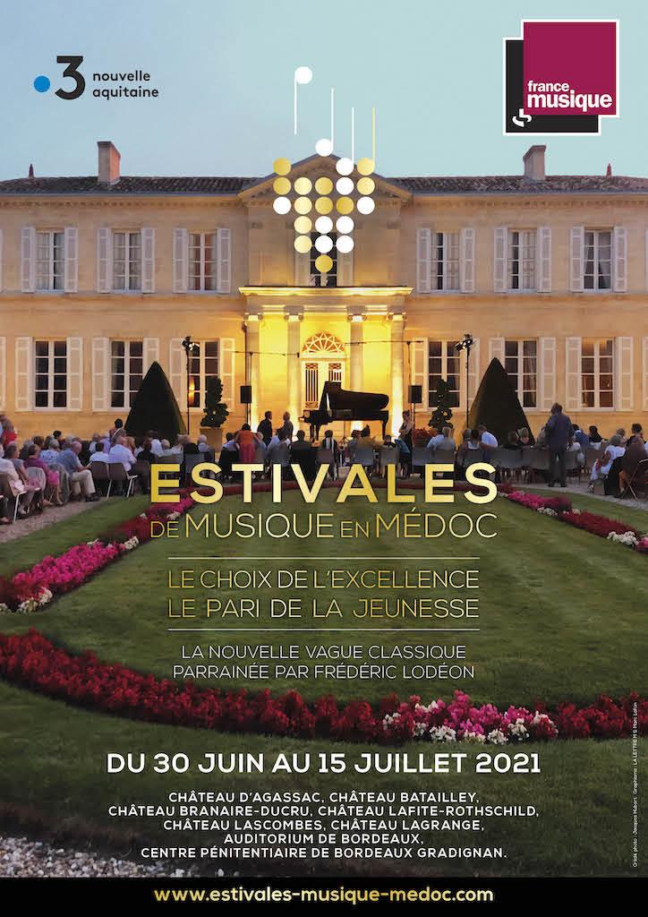 Jacques Hubert, Président des Estivales de musique en Médoc : «Le Festival a pour mission de faire découvrir au plus grand nombre les jeunes artistes les plus prometteurs»