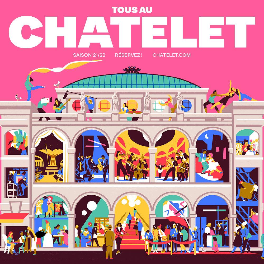 Thomas Lauriot dit Prévost : «La programmation du Châtelet pour 2021-22 est tournée vers la création»