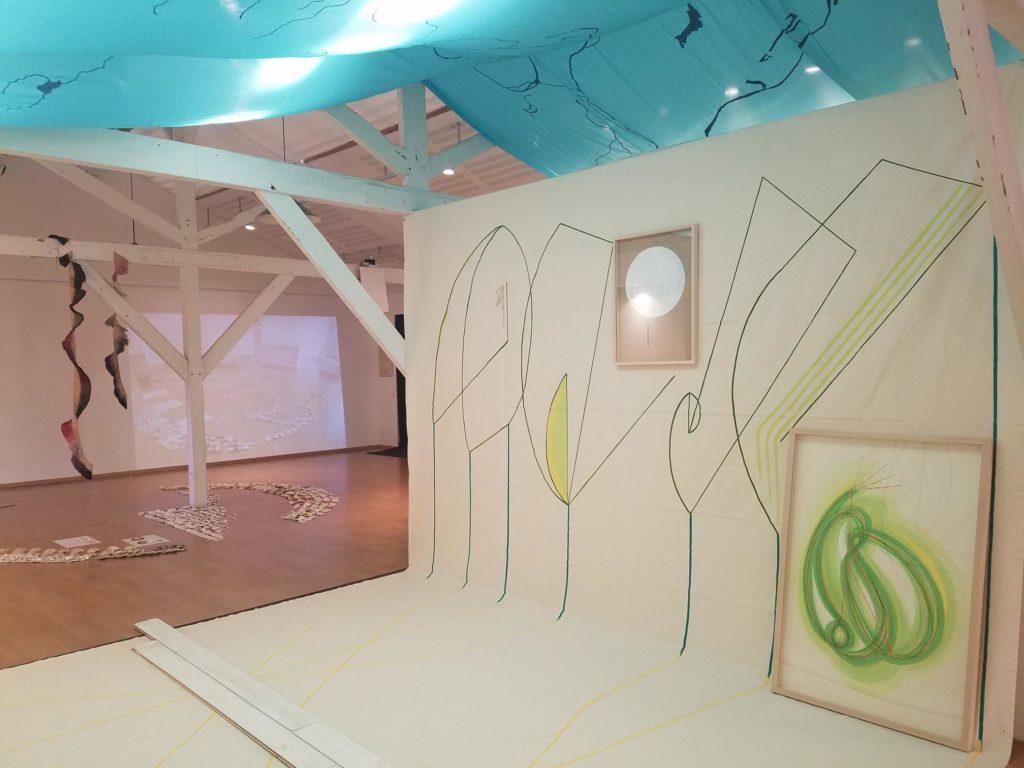 On reprendra des couleurs, exposition collective à la Maison des arts plastiques Rosa Bonheur