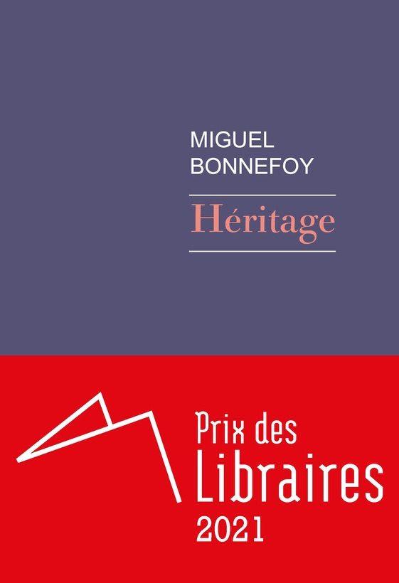 Miguel Bonnefoy, lauréat du Prix des libraires 2021