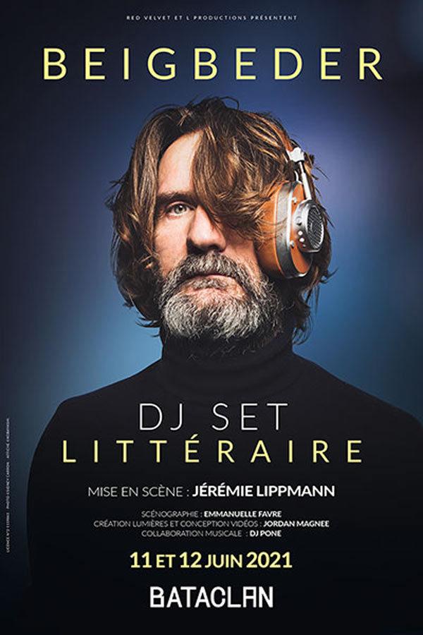 Le DJ set littéraire de Frédéric Beigbeder au Bataclan : le « carpe noctem » d'un intellectuel hédoniste ?