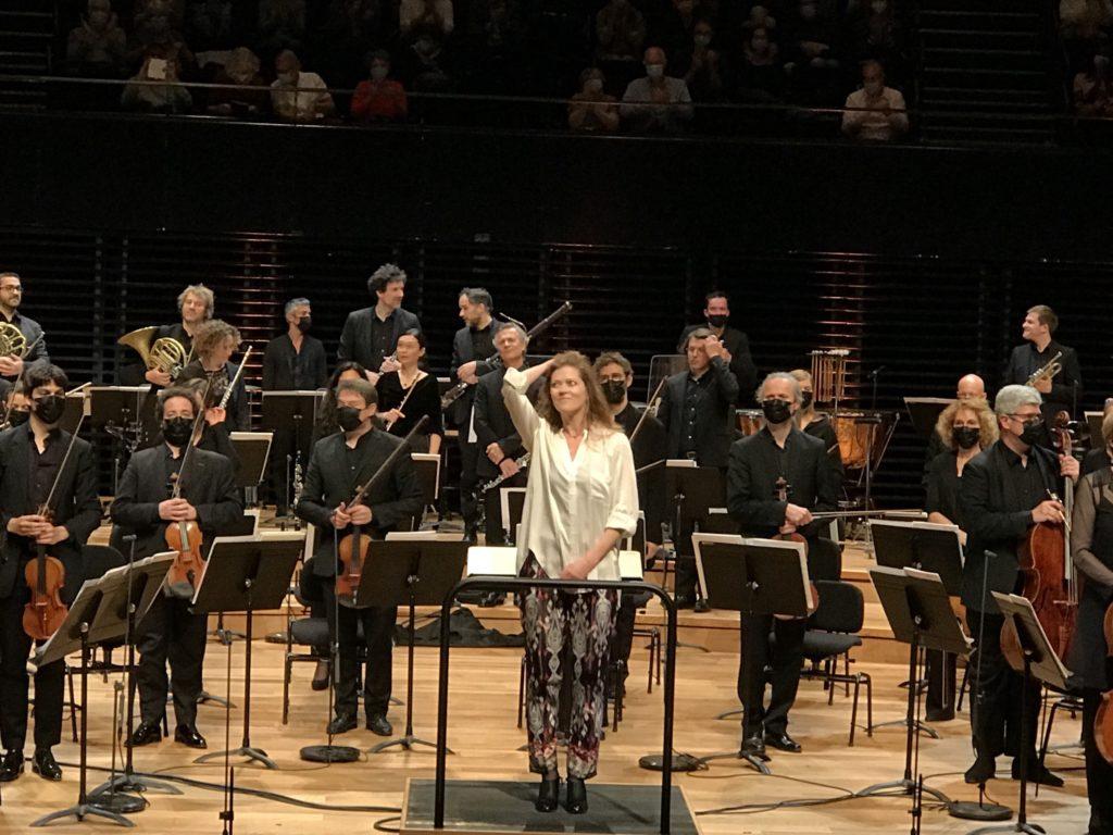Barbara Hannigan à la Philharmonie de Paris : contrastes et transcriptions