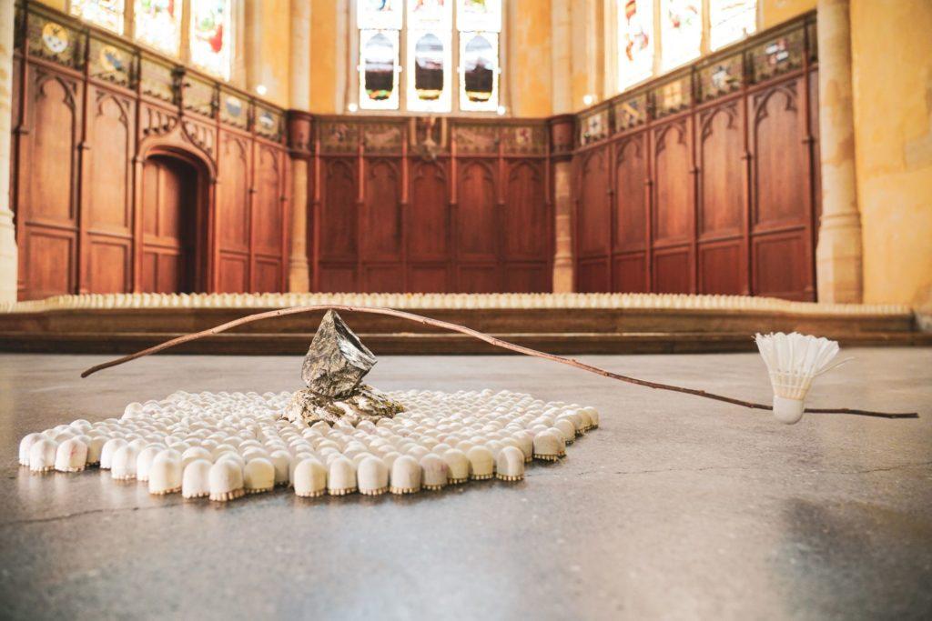 Bouillon de culture en chapelle: le festival Trente-Trente à Bordeaux , ce sont aussi des expositions!