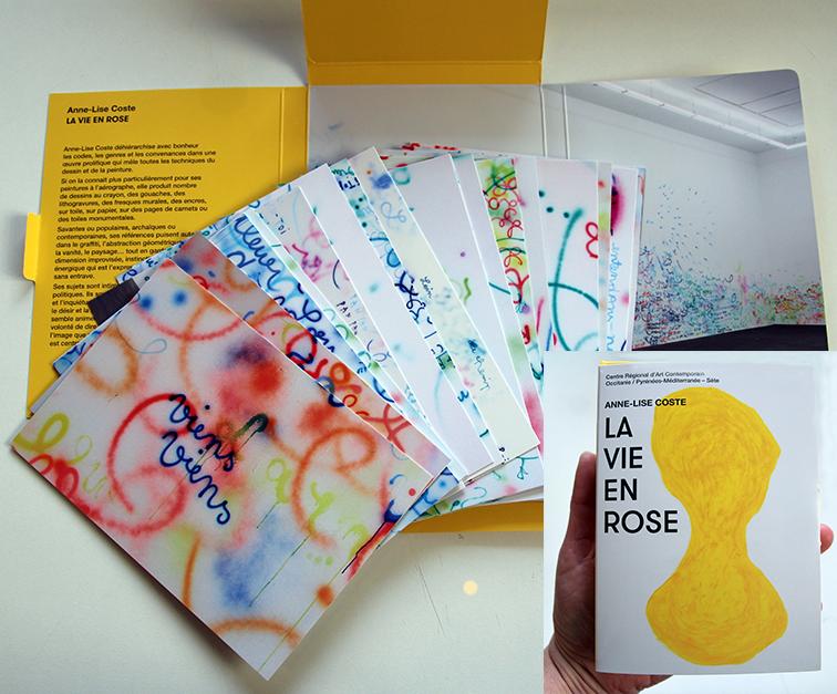 """Gagnez 5×1 édition du catalogue de l'exposition d'Anne Lise Coste, """"La vie en rose"""""""