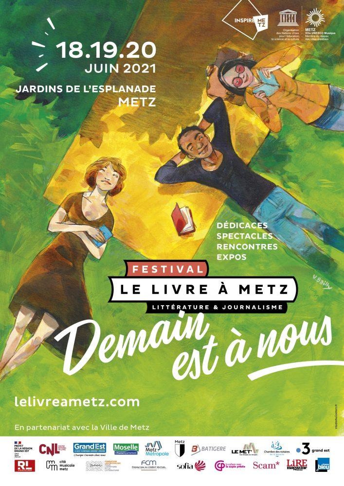 Aline Brunwasser : «L'équipe du Livre à Metz avait envie de réenchanter nos vies»