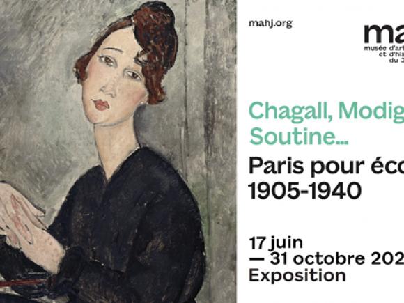 Le maHJ revisite somptueusement l'Ecole de Paris
