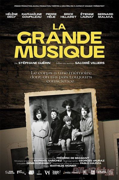 AVIGNON OFF : «La Grande Musique» de Stéphane Guérin
