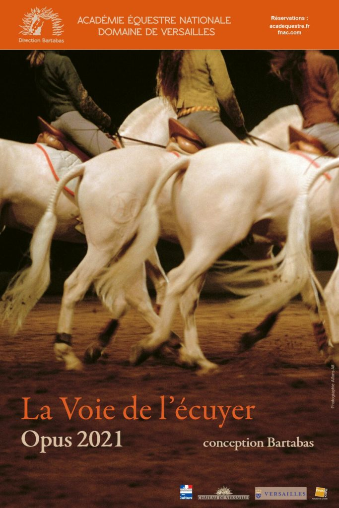 «La Voie de l'écuyer», le spectacle de Bartabas qui inaugure la réouverture de l'Académie équestre de Versailles !