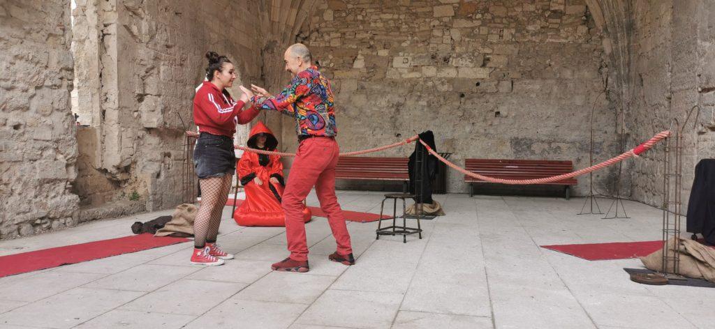 Avignon OFF : Boxing Shadows, Isabelle Starkier met du sens sur les gants