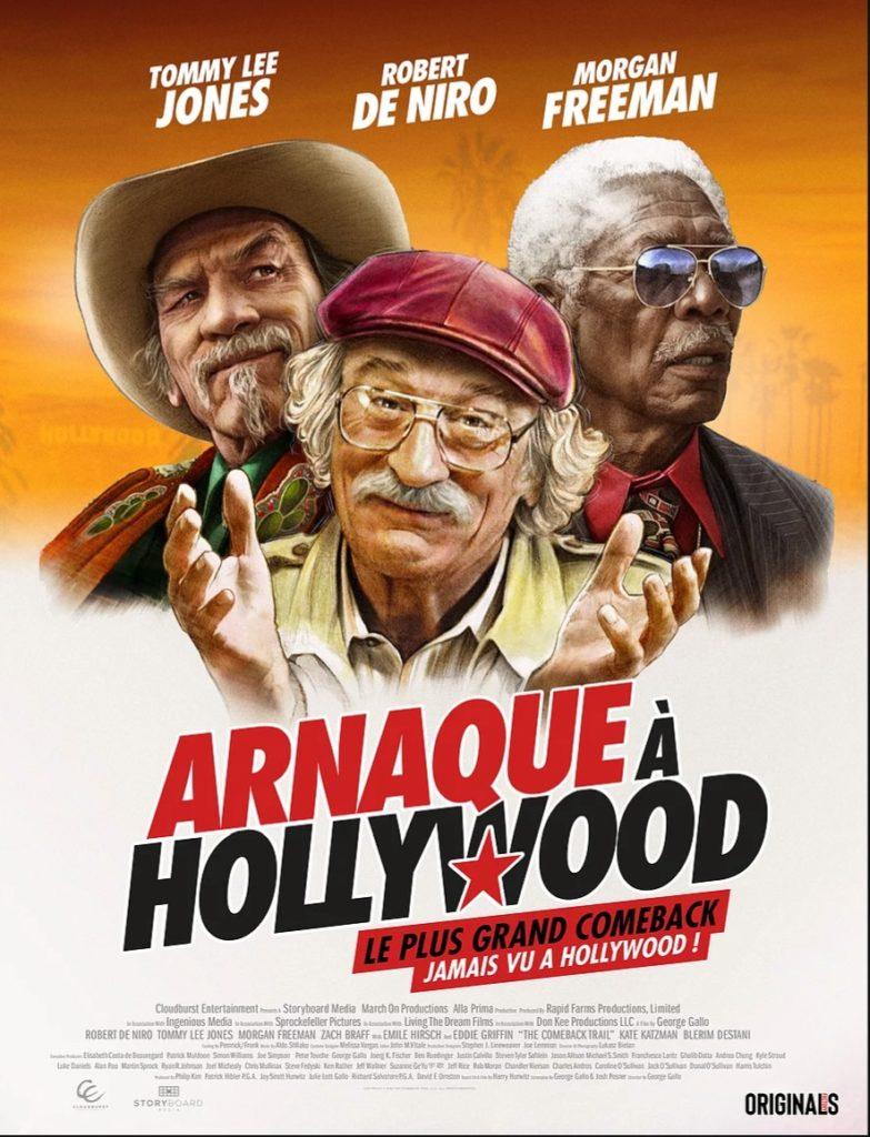 «Arnaque à Hollywood», De Niro, Freeman et Lee Jones revisitent le LA des années 1970