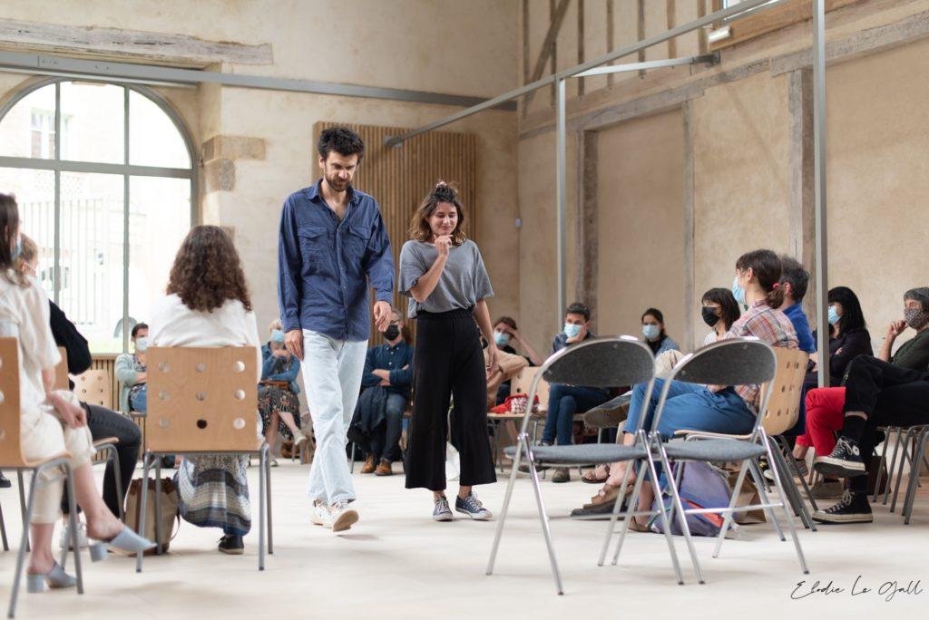 Avignon OFF : Partez devant, Le Grand Cerf Bleu en mode amour impossible