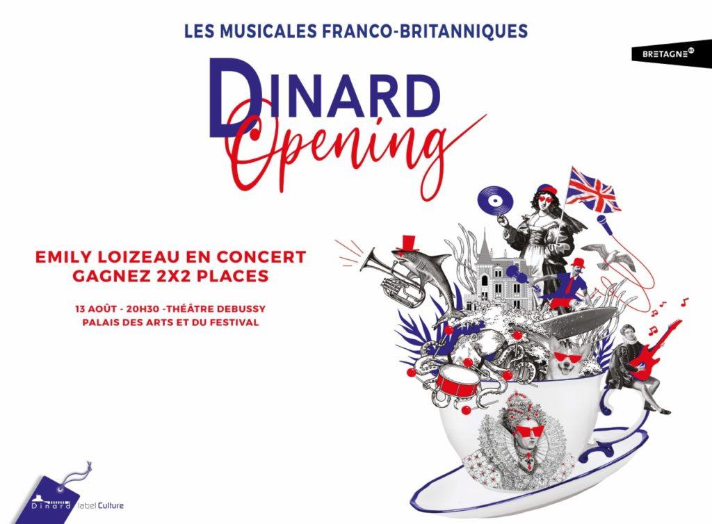 Gagnez 2X2 places pour le concert d'Emily Loizeau au festival Dinard Opening