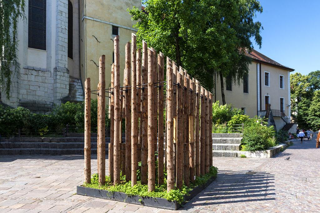 Annecy paysages : Un parcours d'art contemporain entre lac et montagne