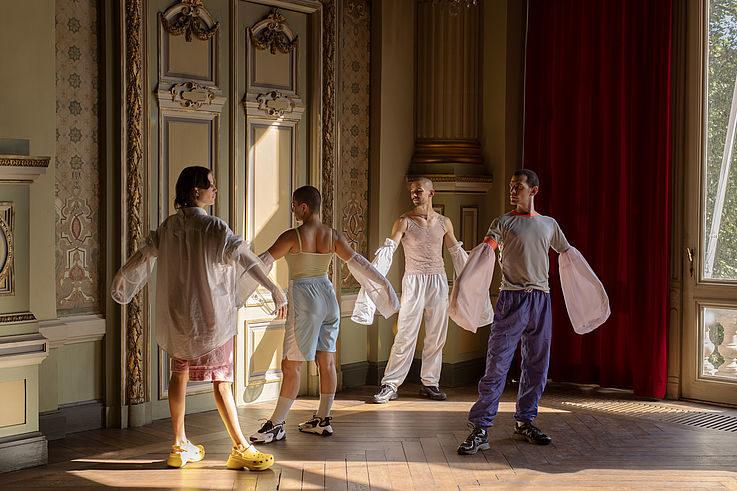 Baroque dancefloor par James Batchelor à Berlin