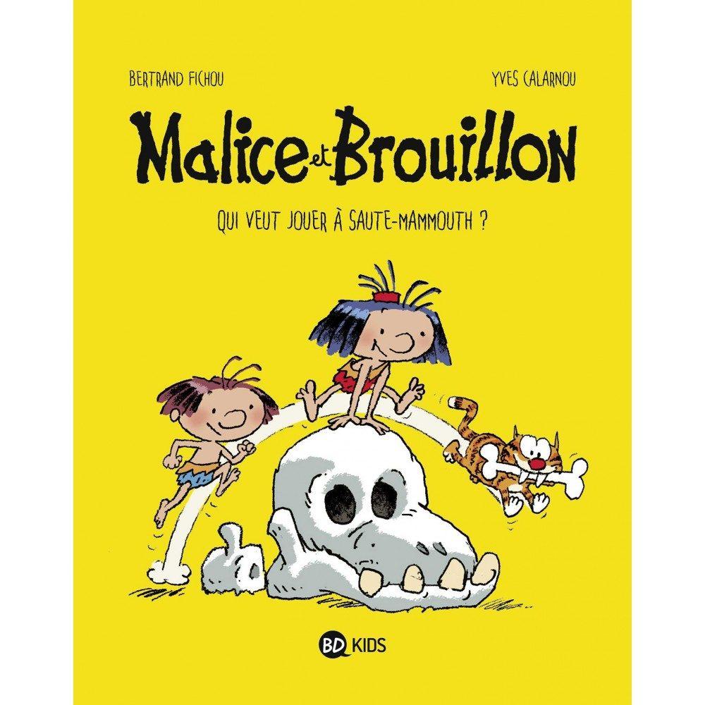 Malice et Brouillon cherchent et trouvent chez BD Kids