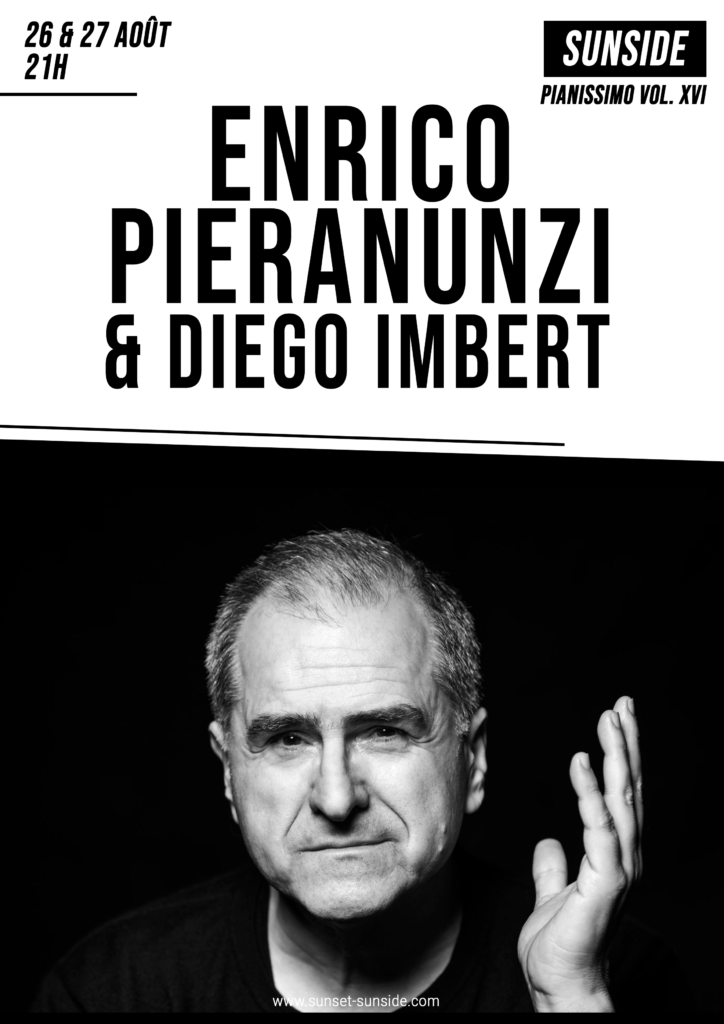 Enrico Pieranunzi et Diego Imbert, un dialogue piano contrebasse envoûtant au Sunside