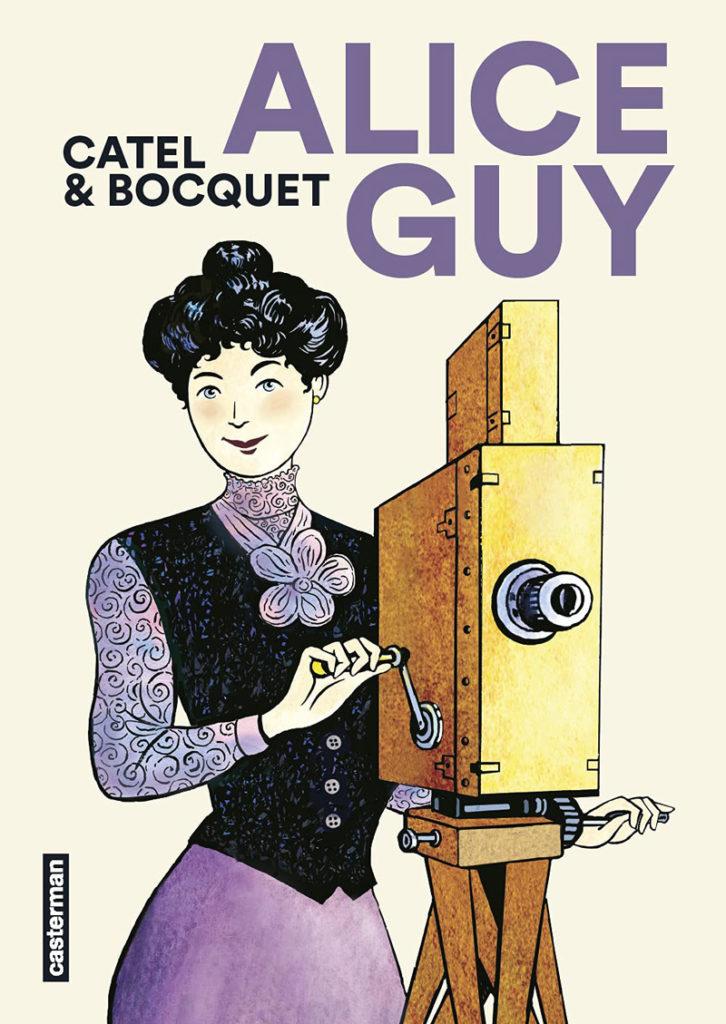 Alice Guy, la nouvelle héroïne de Catel et Bocquet