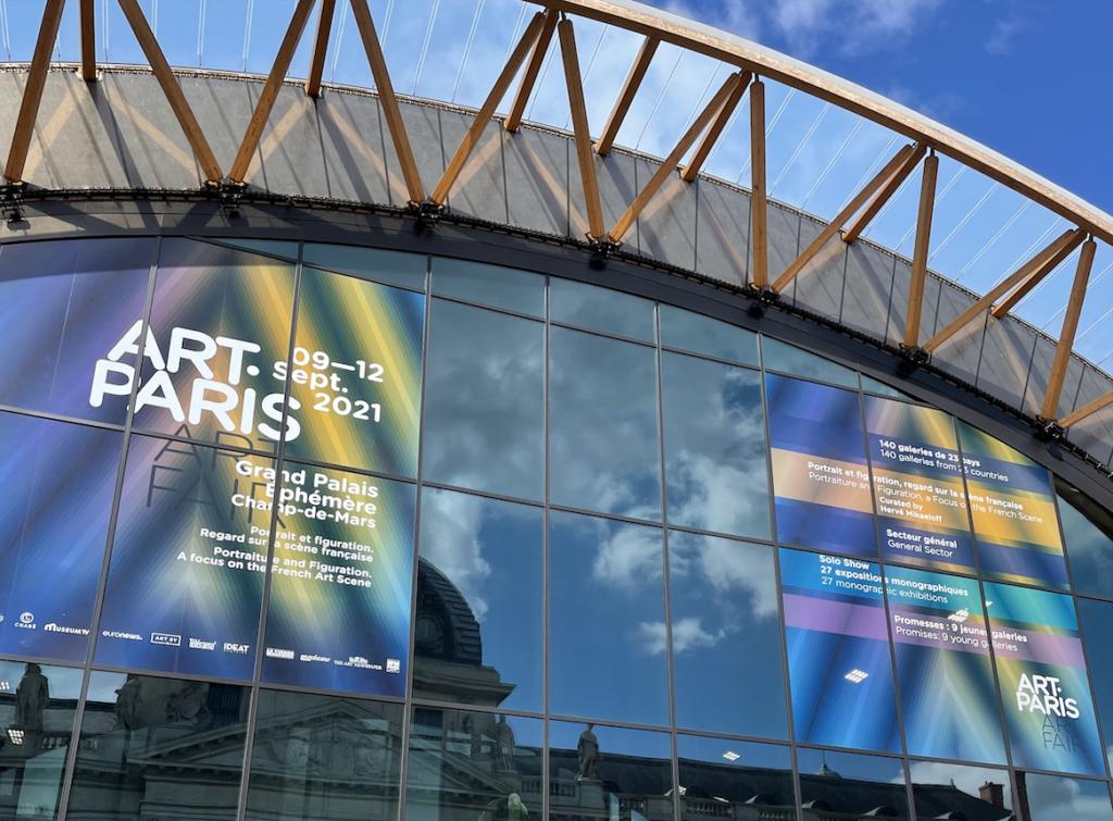Art Paris 2021 : les galeries font leur rentrée au Grand Palais Éphémère