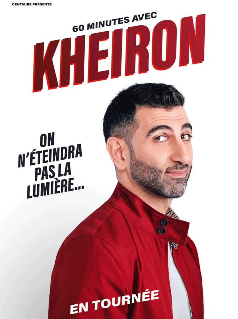 60 minutes avec Kheiron : une soirée unique !