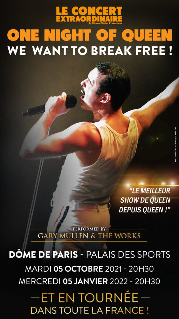 One Night of Queen : The Show Must Go On !