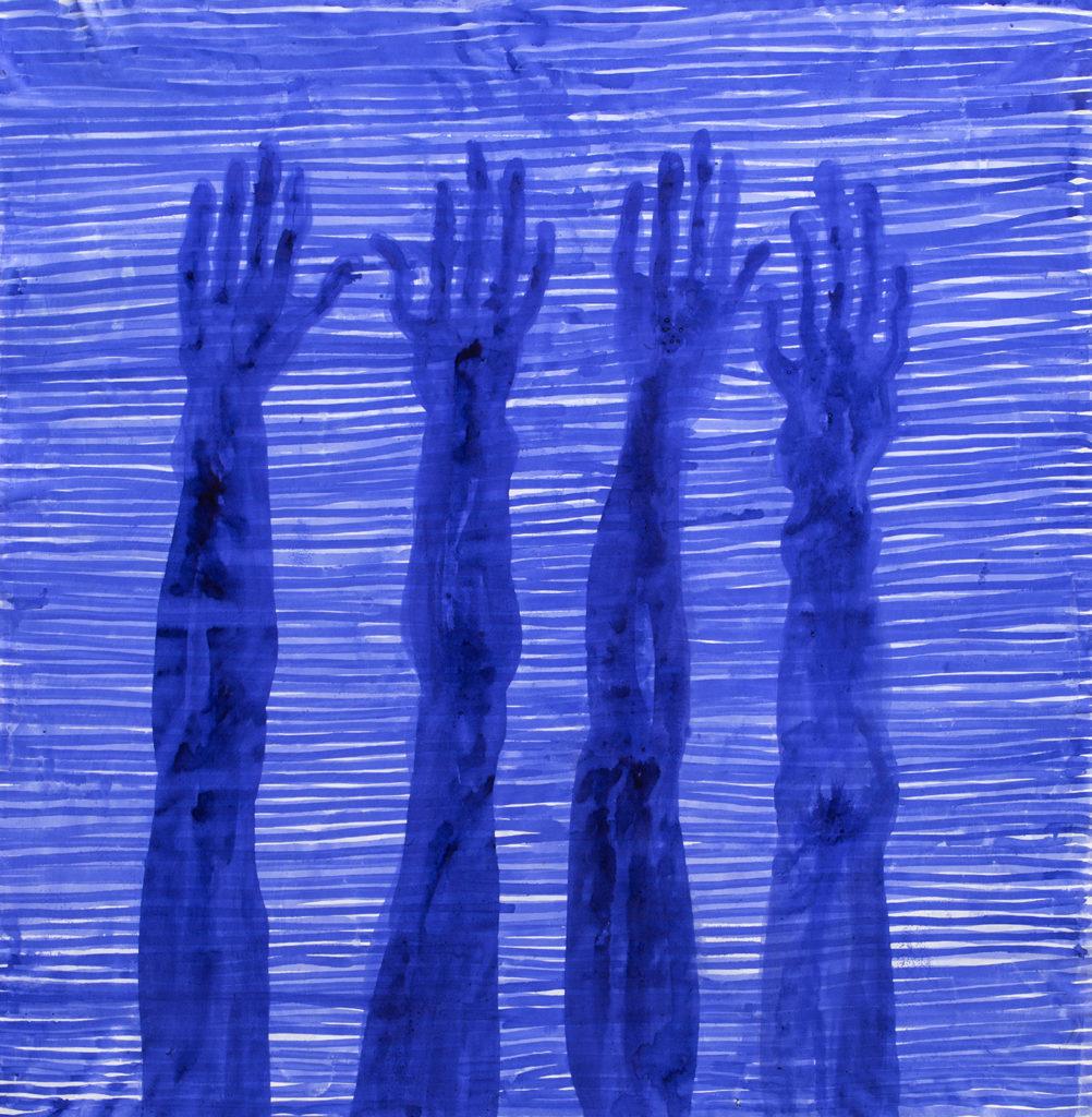 Les partages de Barthélémy Toguo à la Galerie Lelong expliqués par leur commissaire, Hafida Jemni di Folco