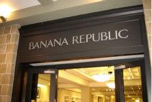 Les Champs-Elysées, capitale de la mode américaine, accueillent enfin Banana Republic