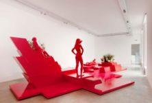 Exposition de Xavier Veilhan à la galerie Perrotin