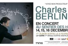 Charles Berling se met à la chanson et se produit au Sentier des Halles