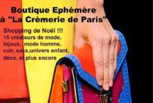 Une boutique éphémère pour trouver tous vos cadeaux de Noël : c'est la Color Block Party à la Crèmerie de Paris !