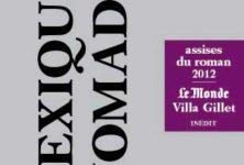 Invitation au voyage avec le <em>Lexique nomade</em> des Assises du roman 2012