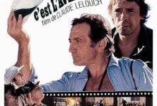 Belmondo en tournage pour Lelouch
