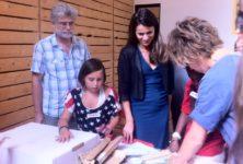 Aurélie Filippetti clôt Les portes du Temps à la Cité de l'Immigration