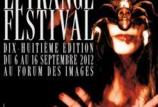 L'étrange festival atteint la majorité le 6 septembre