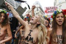 Les FEMEN s'installent à Paris