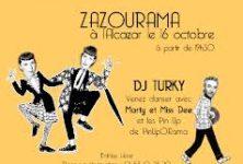 Gagnez deux cocktails lors de la soirée Zazourama à l'Alcazar le 16/10
