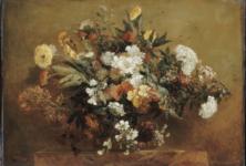 Des fleurs en hiver au musée Delacroix