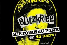 Blitzkrieg, l'histoire du punk en 45 tours, de Géant Vert