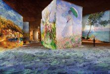 Les Carrières de Lumières des Baux de Provence revêtent les couleurs de Monet, Renoir ou encore Chagall – un véritable voyage sensoriel
