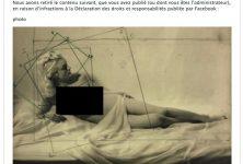 Une nouvelle photo de nu censurée par Facebook