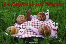 Le déjeuner sur l'herbe d'Isabelle Gil