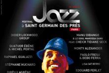 13ème édition du festival de jazz à St Germain-des-Prés