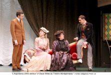Tout le piquant d'Oscar Wilde au Théâtre du Montparnasse