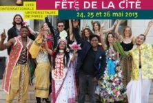 Trois jours de «Fête à la Cité» Internationale du 24 au 26 mai