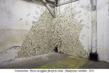 Les « peintures-déchets» d'Antoine Desailly à la Galerie W