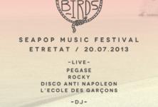 Hello Birds : Etretat lance une soirée de grande musique et un financement sur kiss kiss bank bank