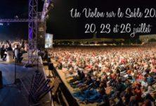 Gagnez 2×2 places pour le festival Violon sur le Sable et le concert du 23 juillet