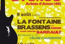 2ème édition de Chansons & Mots d'Amou les 9 et 10 août dans les Landes