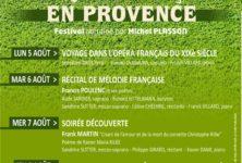 Musique française en Provence : un nouveau festival classique mêlant vin et musique