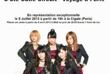 [live report] °C-ute : le concert évènement du 5 juillet 2013 à la Cigale de Paris