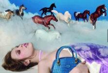Campagne onirique pour Tod's vue par David LaChapelle